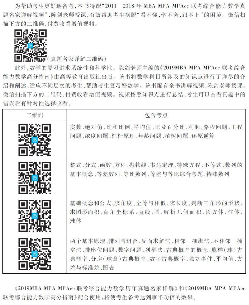 2019历年真题名家详解使用方法